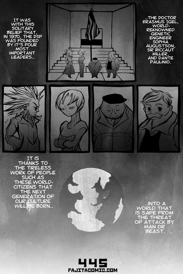 Comic #445 World Citizens
