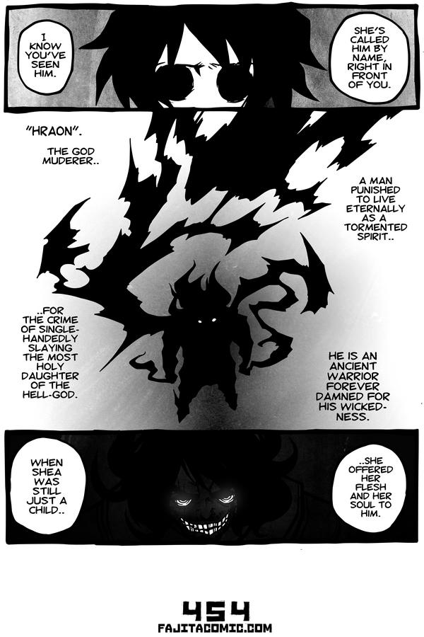 Comic #454 Murderer of Gods