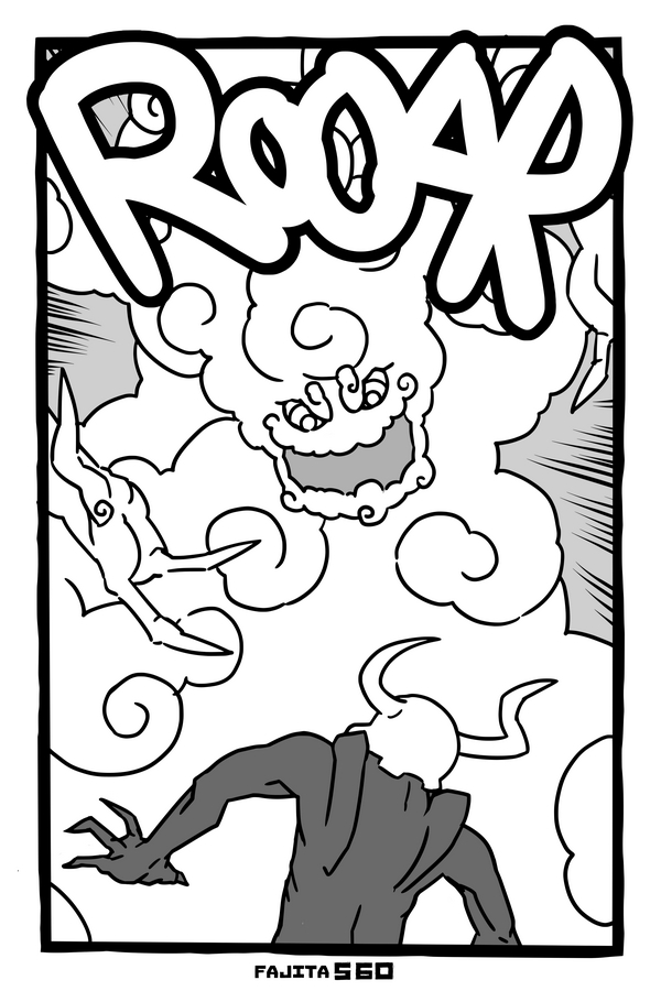 Comic #560 Smokemonster