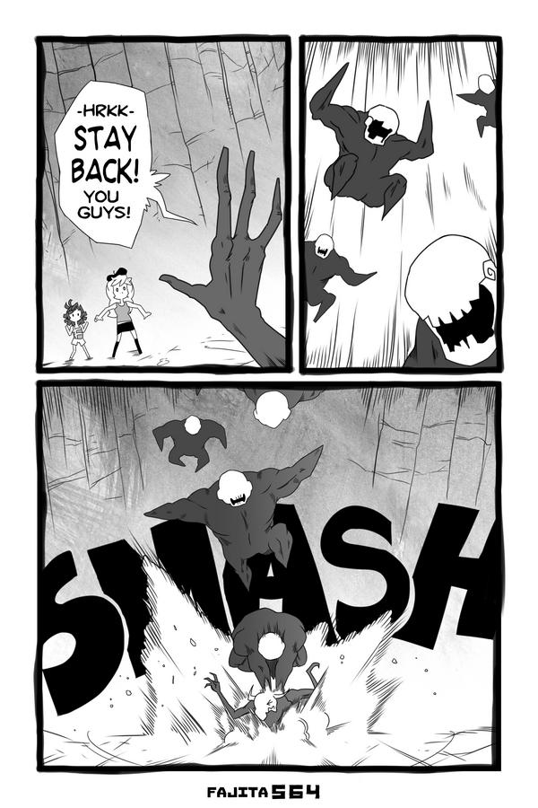 Comic #564 Ghoul Smash