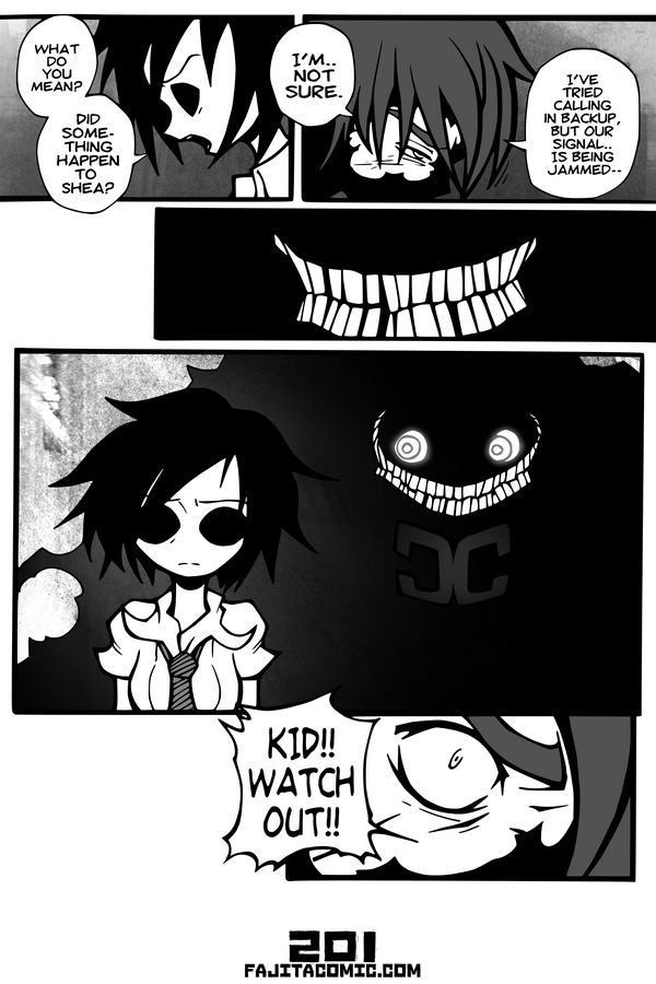 Comic #201 A Smile in the Dark