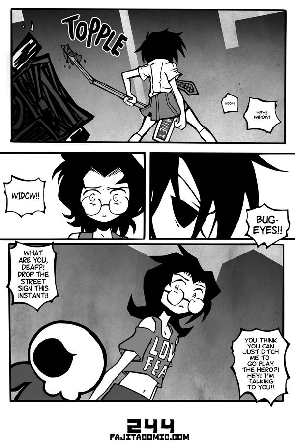 Comic #244 Topple