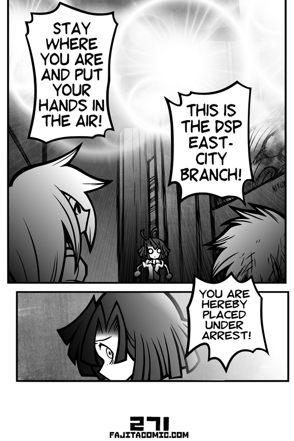 Comic #271 Delayed Arrival of the East Branch