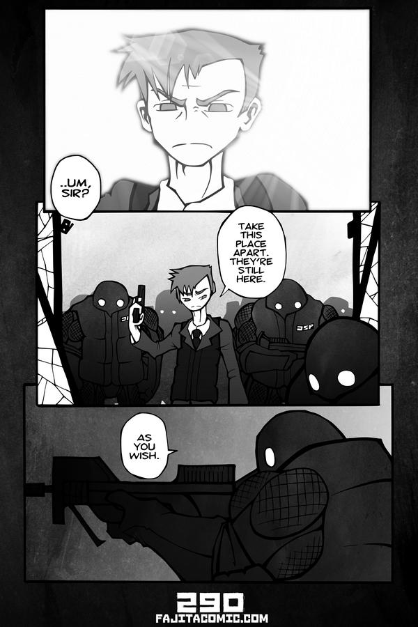 Comic #290 Detective German