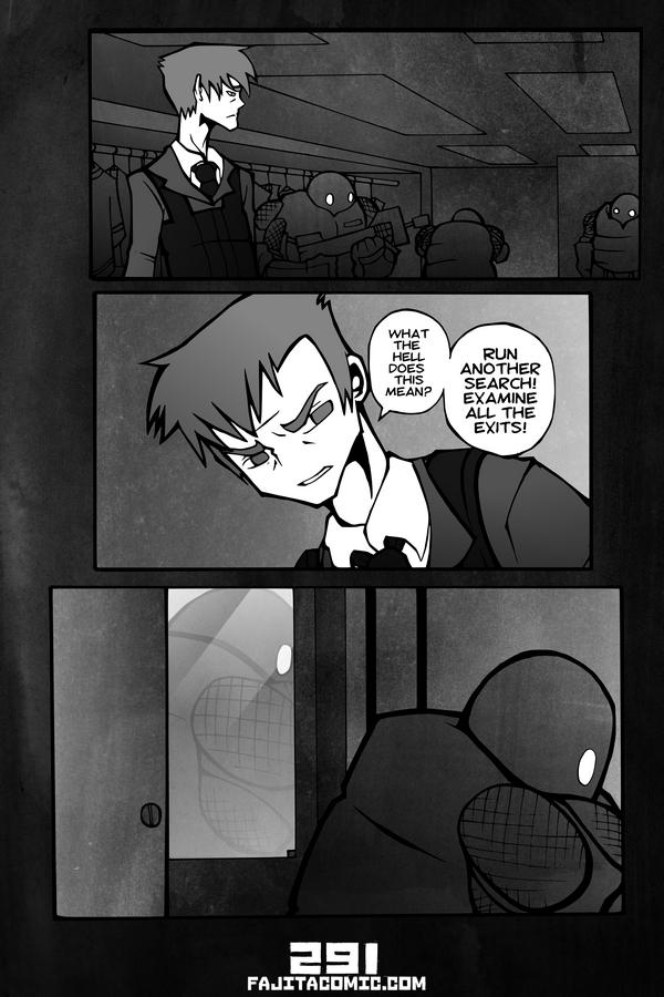 Comic #291 Exits