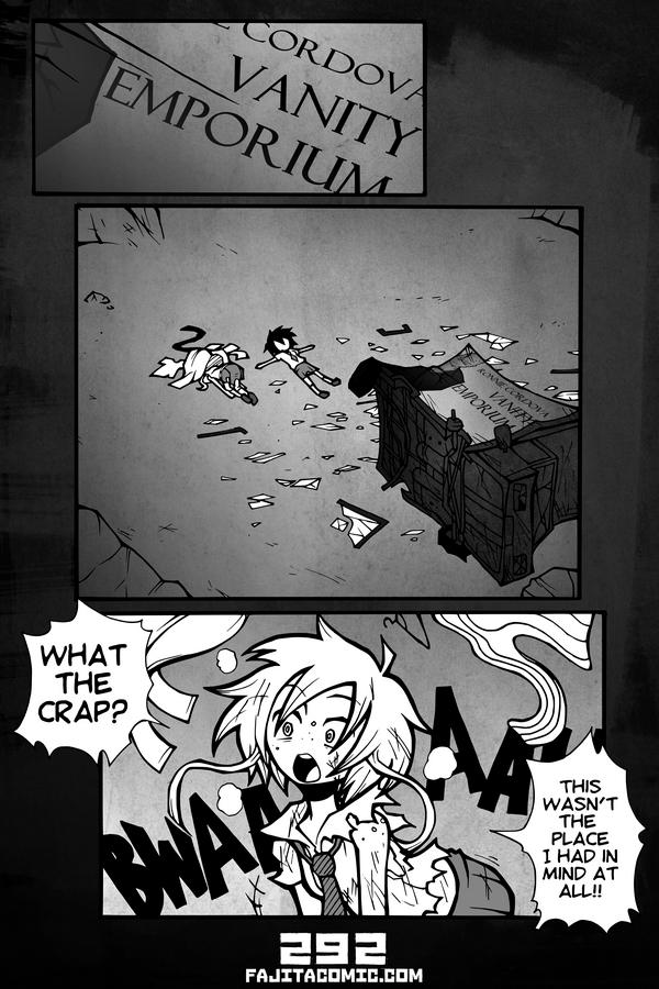 Comic #292 Bwah