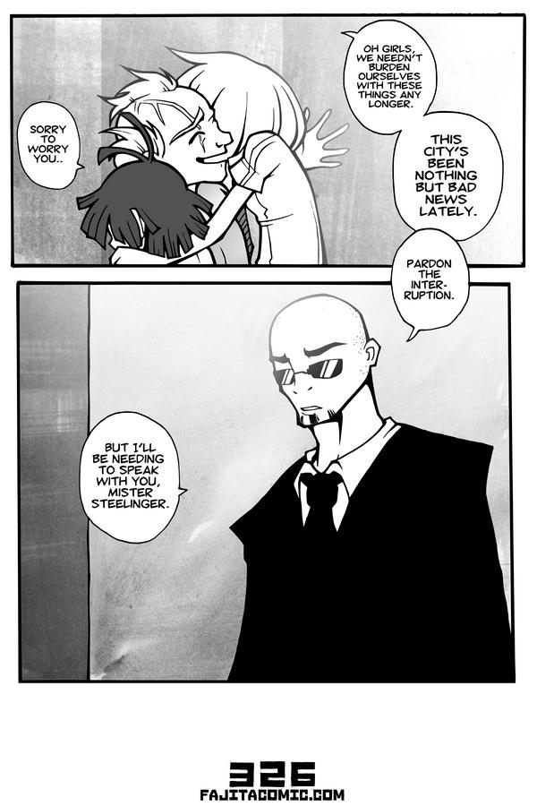 Comic #326 Black Tie