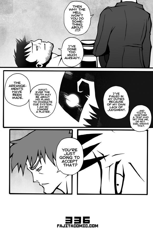 Comic #336 Lack of Judgment