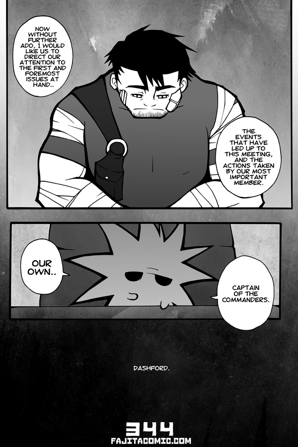 Comic #344 The Captain of Commanders