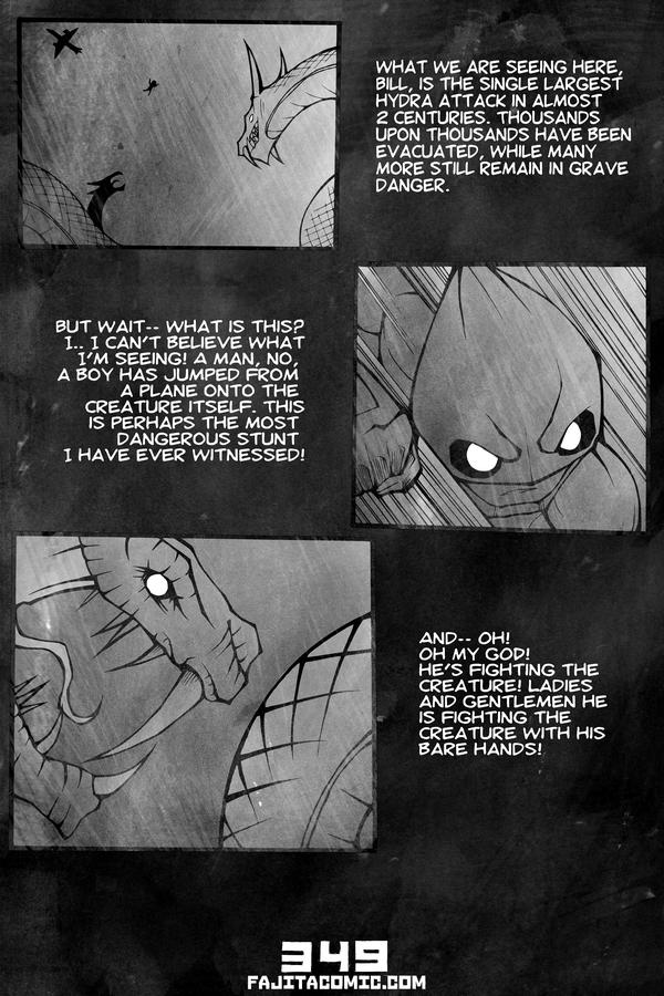 Comic #349 The Return of the Gods Pt. 01