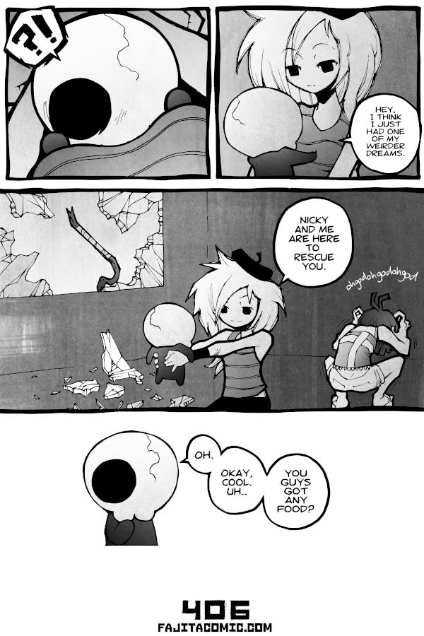 Comic #406 Bosom Friends