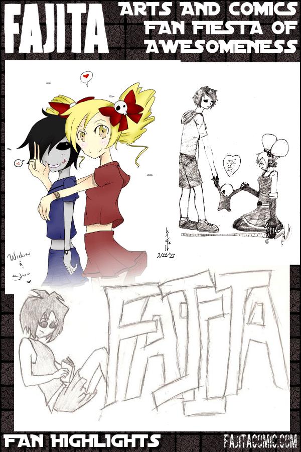 Fan Art Collage (Fanart & Fillers)