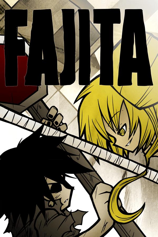 Fajita Issue #2 Cover (Fanart & Fillers)