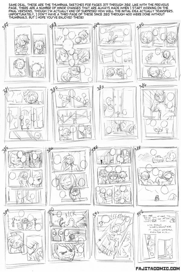Post Chapter 8 Thumbnails #2 (Fanart & Fillers)