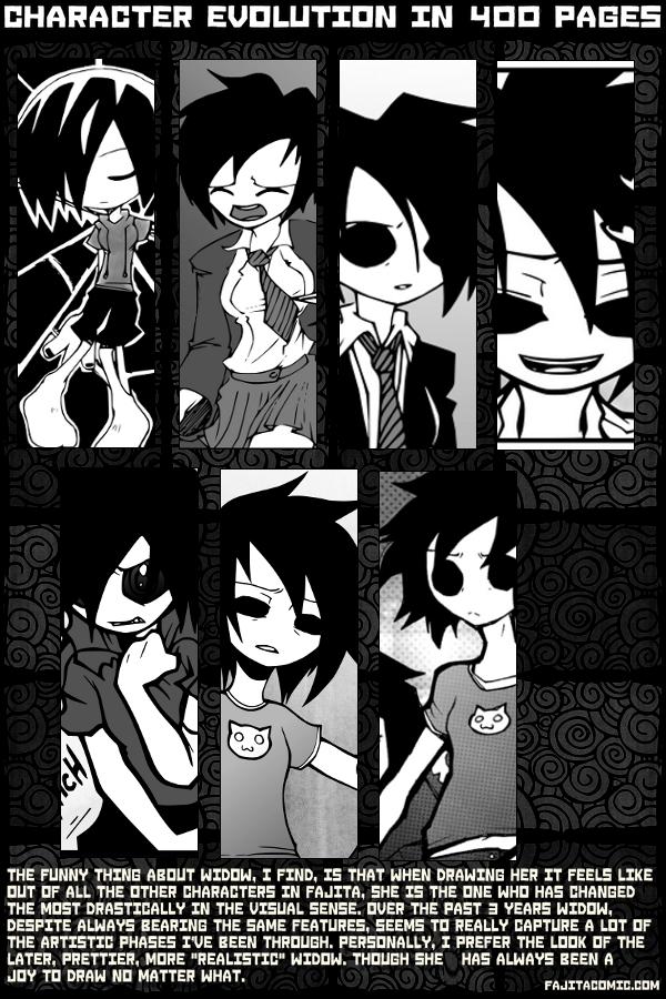 Character Progress: Widow (Fanart & Fillers)