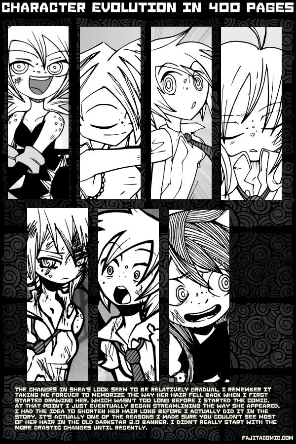 Character Progress: Shea (Fanart & Fillers)