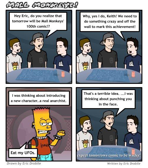 Mall Monkeys Comic - Comic #99