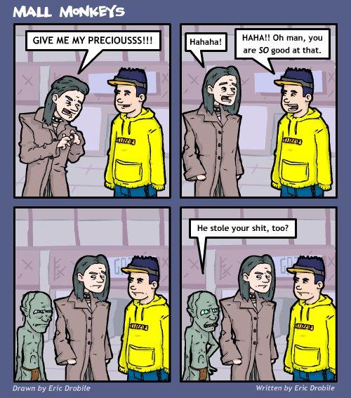 Mall Monkeys Comic - Precious