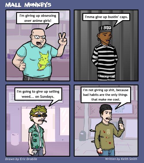 Mall Monkeys Comic - More Resolutions