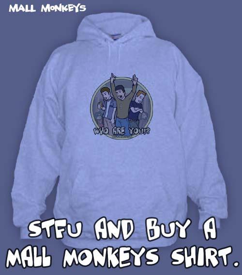 Mall Monkeys Comic - BUY A SHIRT