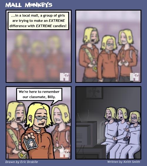 Mall Monkeys Comic - Crying is Cool