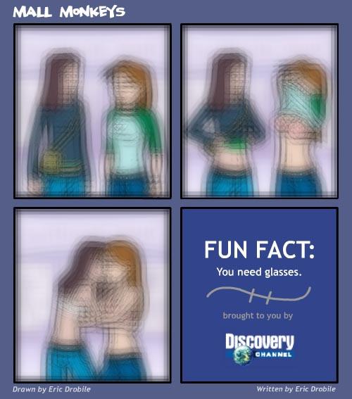 Mall Monkeys Comic - GIRL ON GIRL ACTION