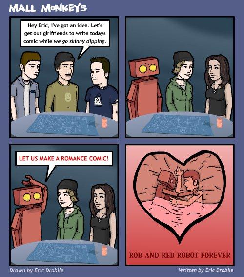 Mall Monkeys Comic - Girlfriends