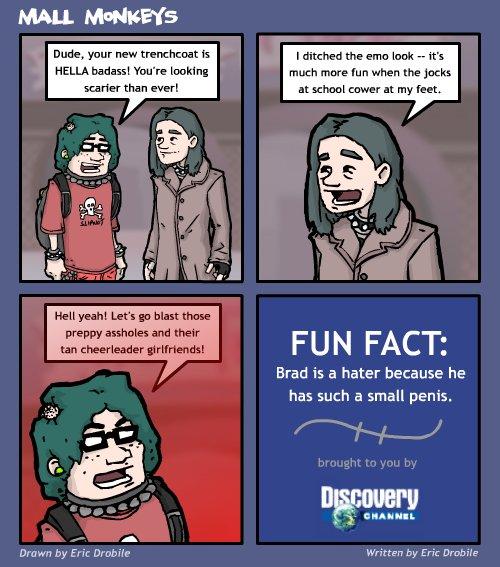 Mall Monkeys Comic - Columbrad