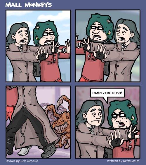 Mall Monkeys Comic - Zuggle Zuggle