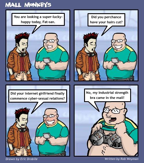 Mall Monkeys Comic - Something Different