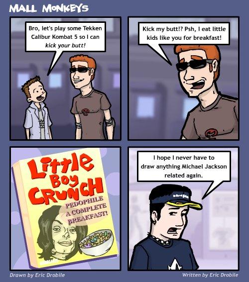 Mall Monkeys Comic - Mikey's Challenge