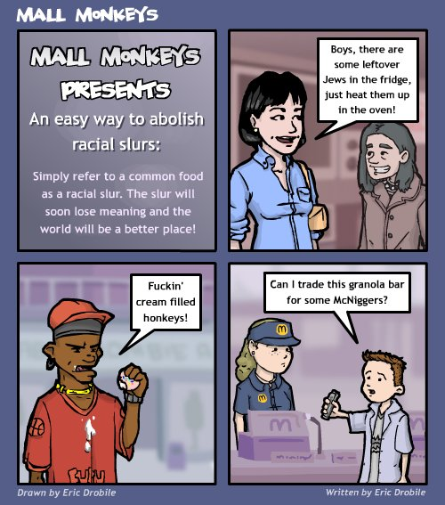 Mall Monkeys Comic - A Solution