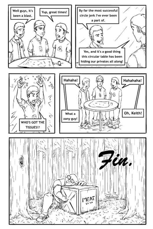 Mall Monkeys Comic -