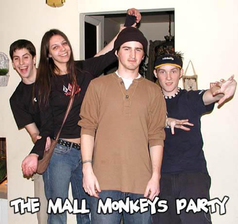 Original Mall Monkeys Party - photo #1