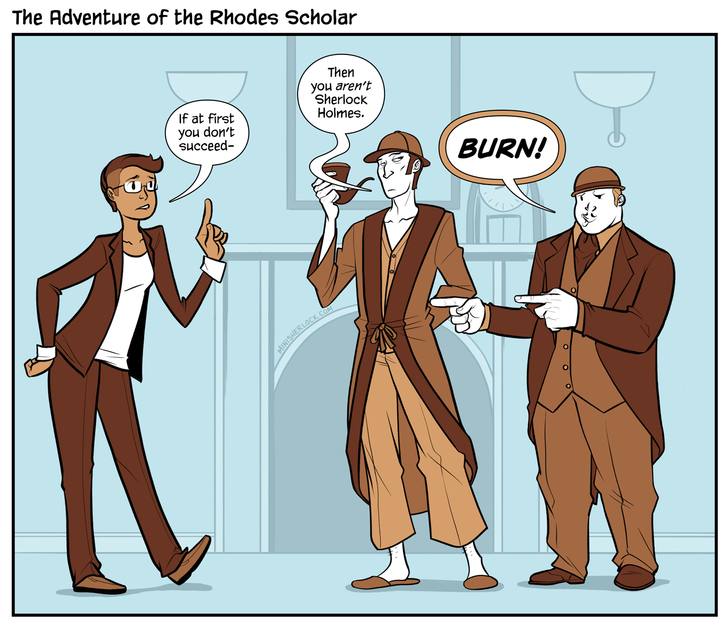 The Adventure of the Rhodes Scholar