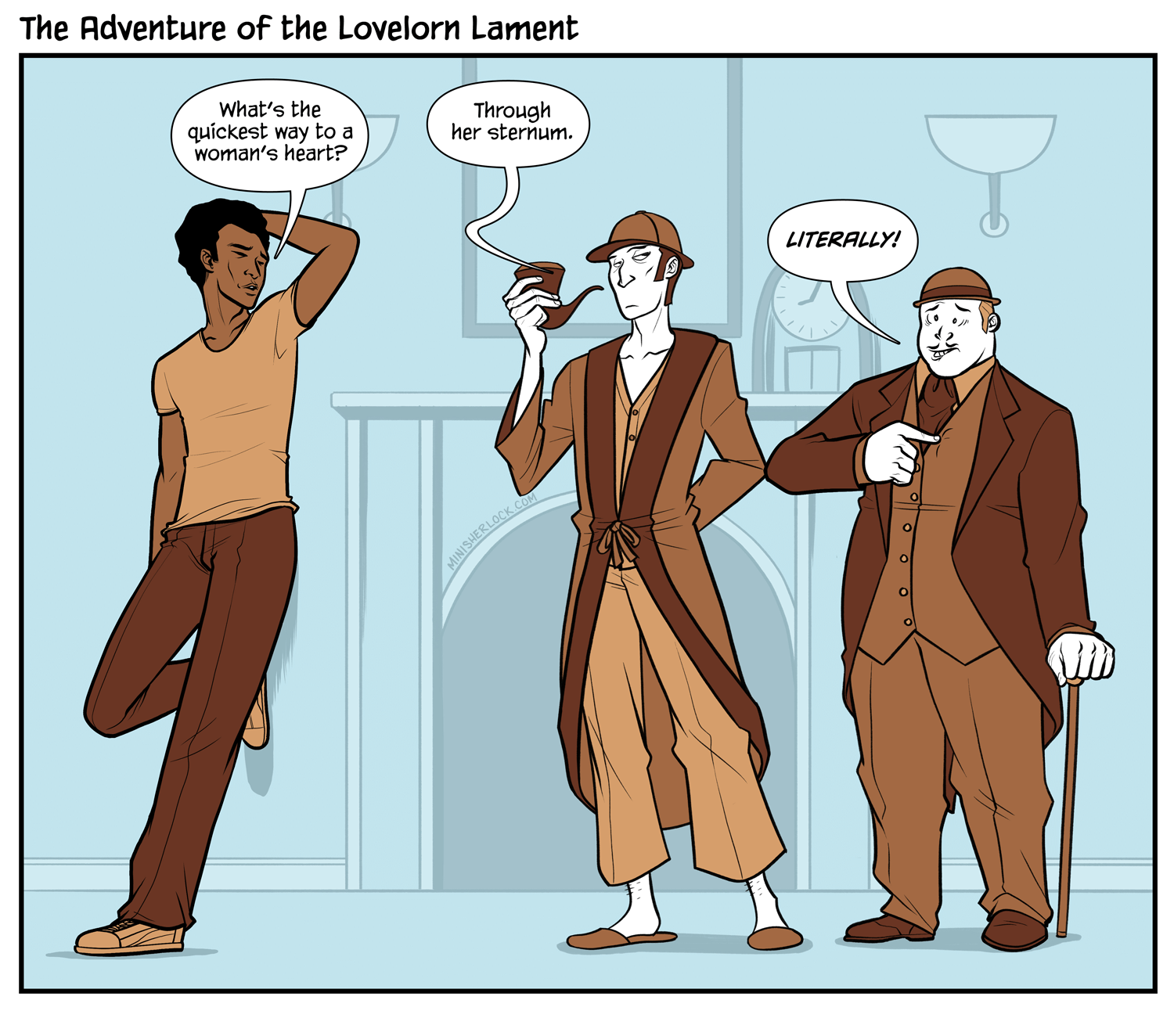 The Adventure of the Lovelorn Lament