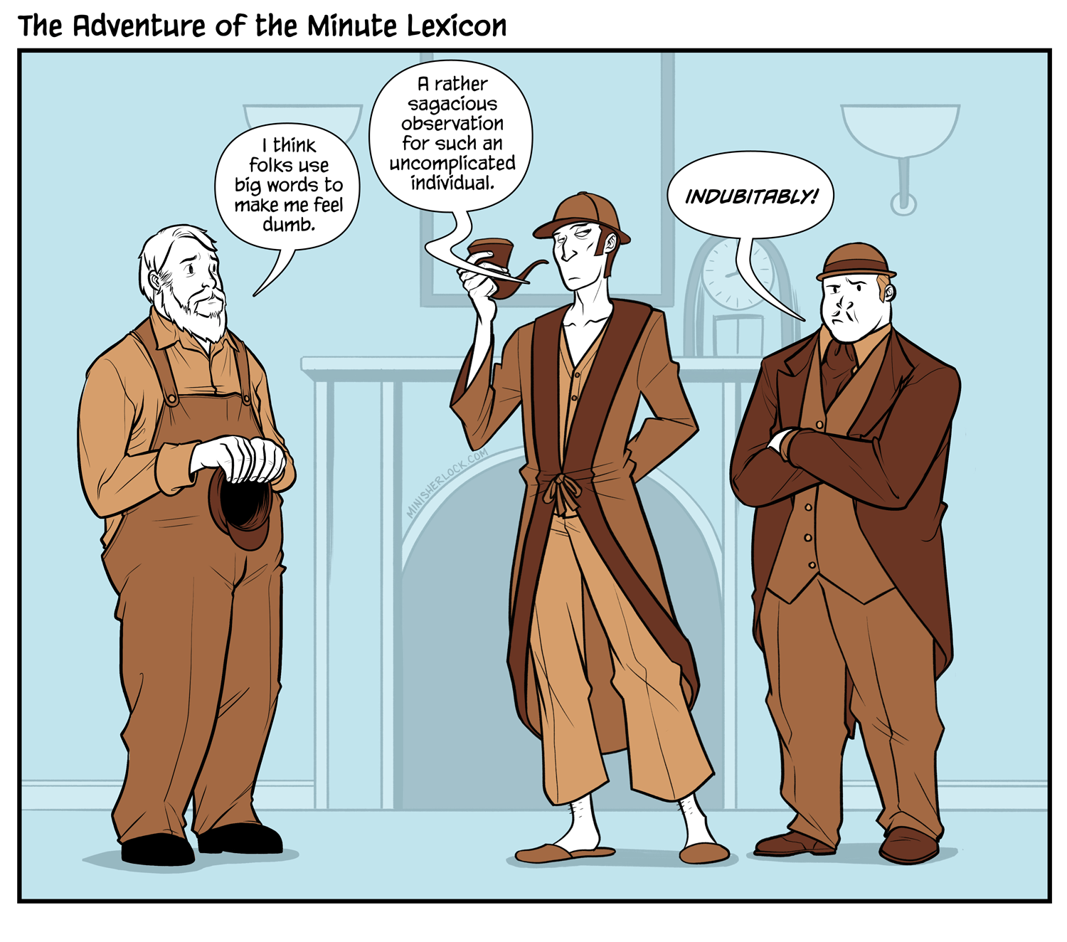 The Adventure of the Minute Lexicon