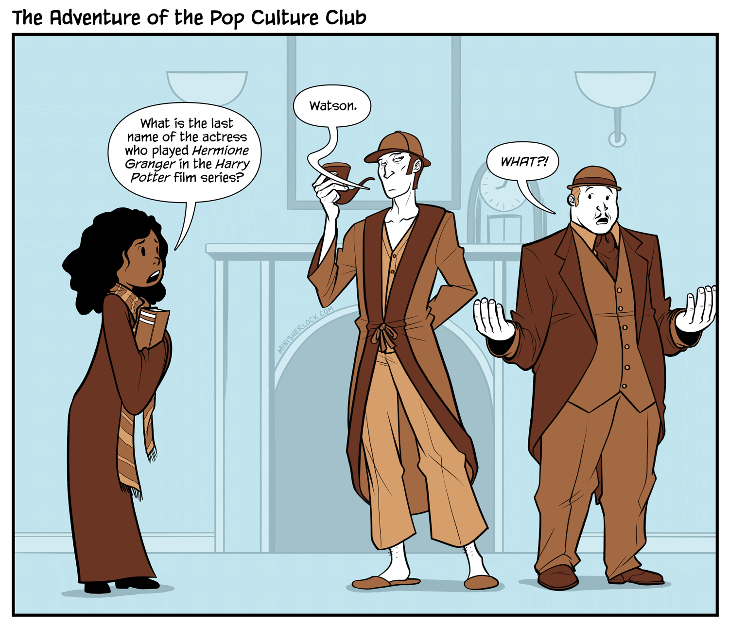 The Adventure of the Pop Culture Club