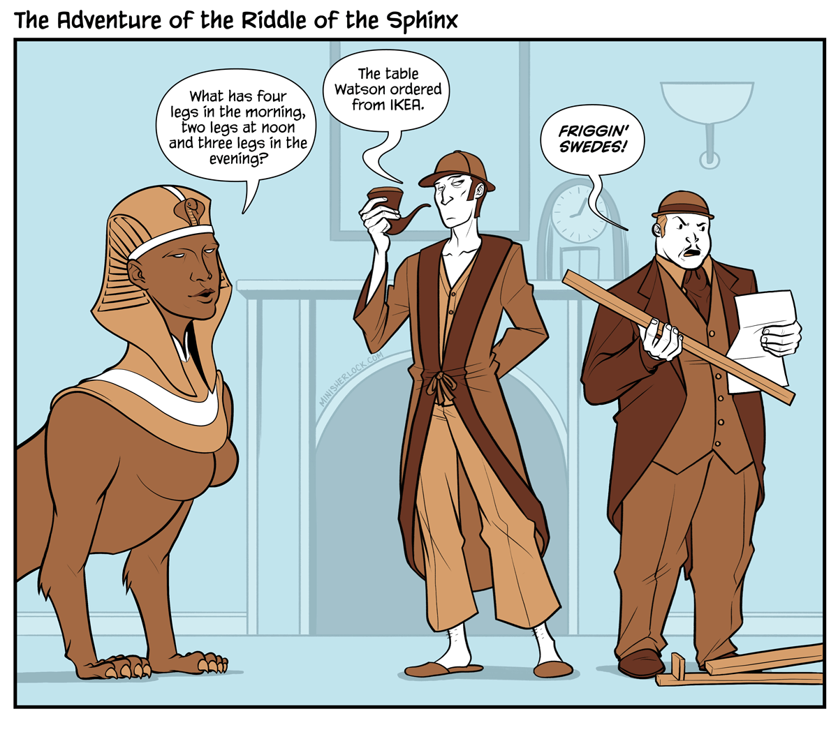 The Adventure of the Riddle of the Sphinx