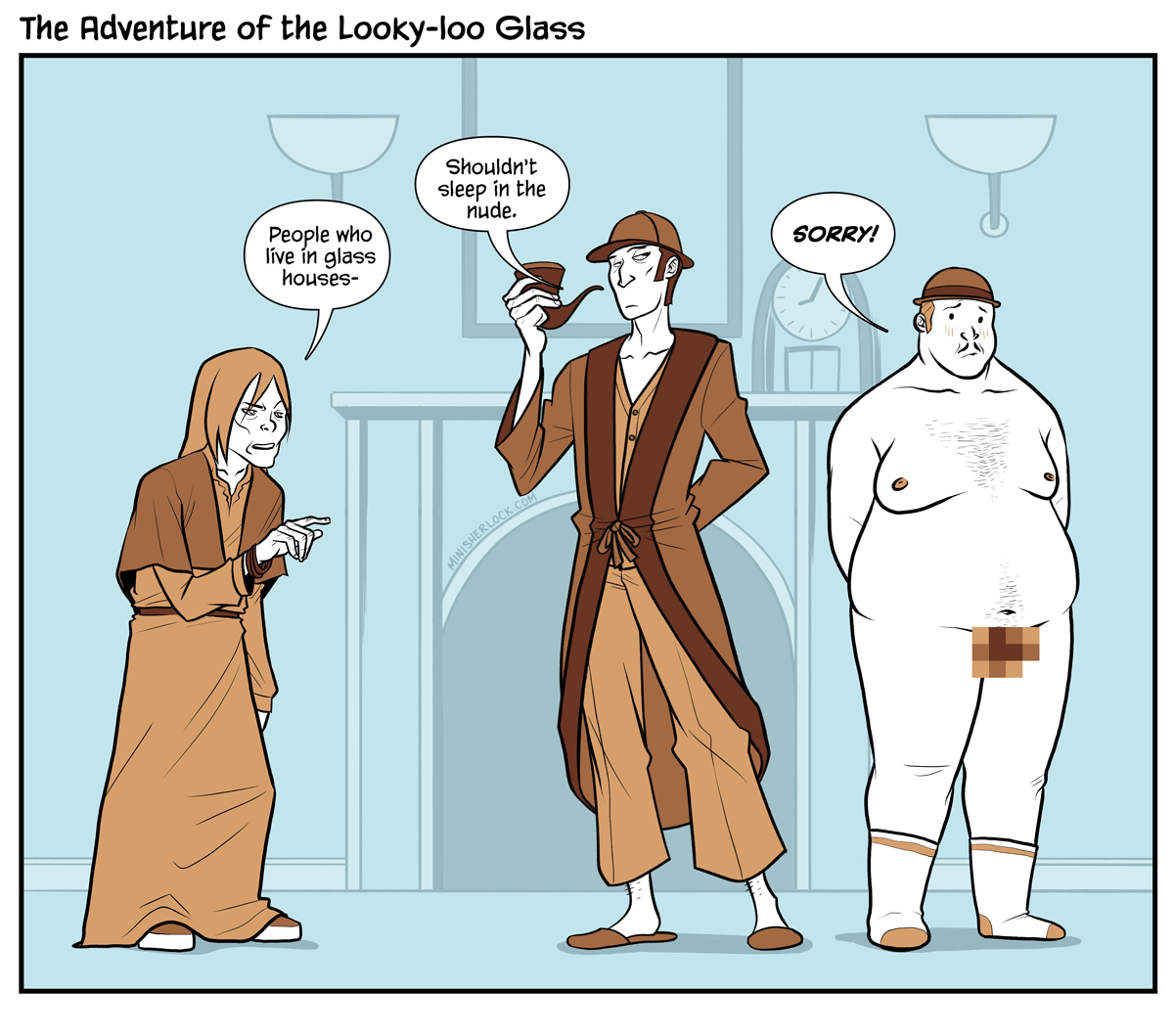 The Adventure of the Looky-Loo Glass