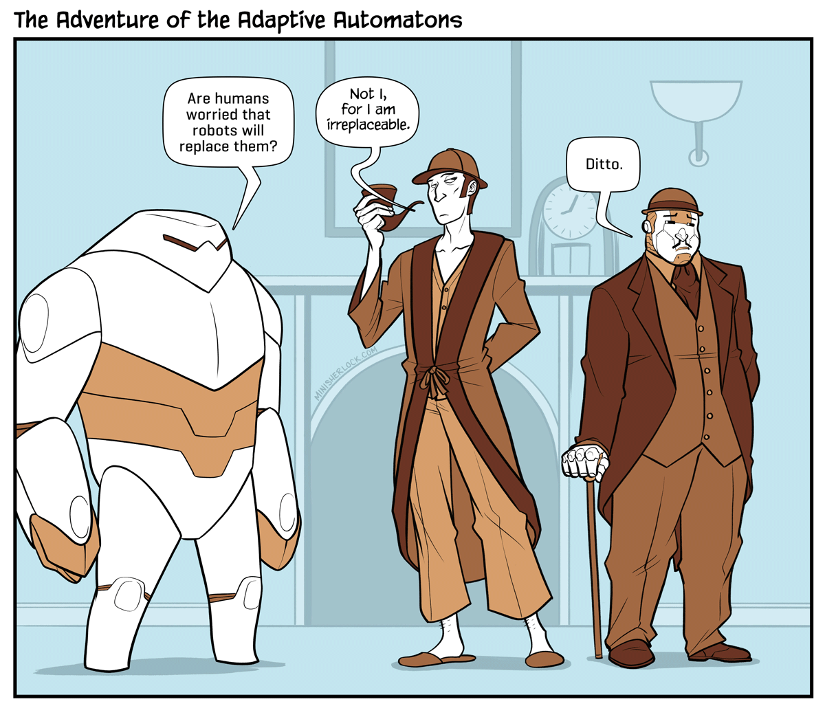 The Adventure of the Adaptive Automatons