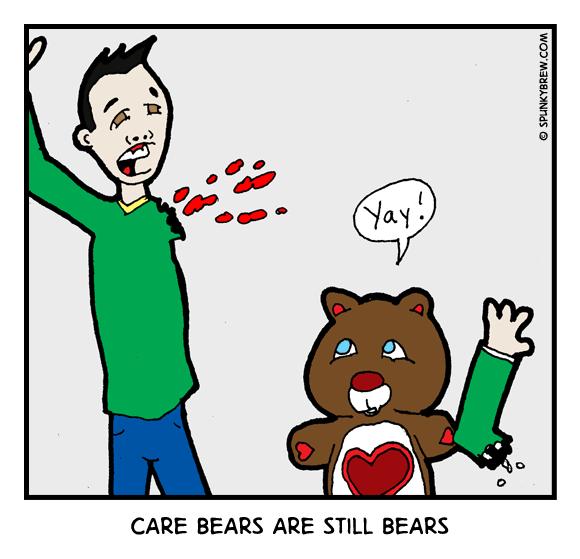 Care Bears Are Still Bears - webcomic strip