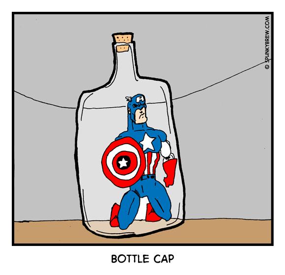 Bottle Cap - webcomic strip