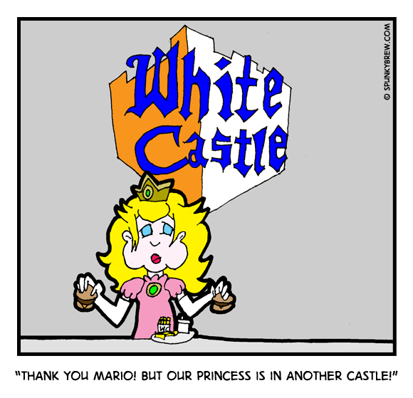 Thank you Mario! But our princess is in another Castle! - webcomic strip