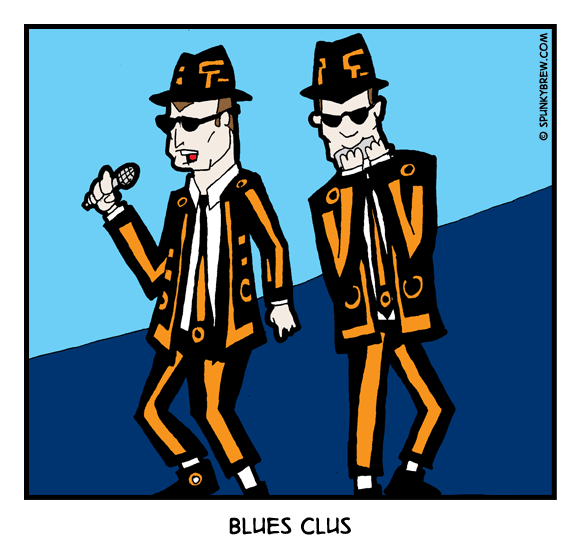 Blues Clus - webcomic strip