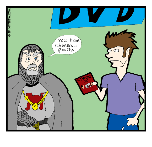 You Have Chosen Poorly - webcomic strip