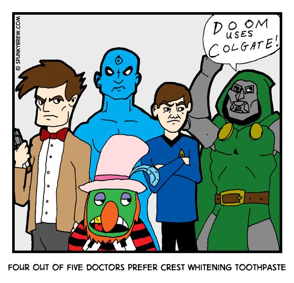 Four Out of Five Doctors… - webcomic strip