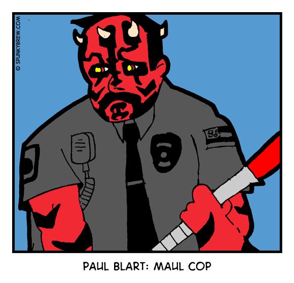 Paul Blart: Maul Cop - webcomic strip