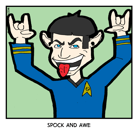 Spocking Out - webcomic strip