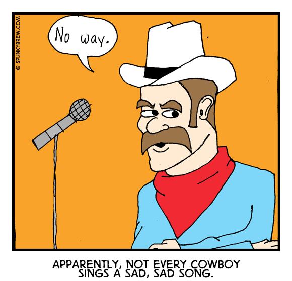 A Sad, Sad Song - webcomic strip